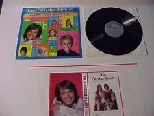 Rock Music~PARTRIDGE FAMILY w/Bookcover~ Vinyl LP RECORD ALBUM VINTAGE ORIG 1971