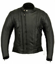 Us20 Womens Leather Motorbike Jacket Motorcycle S