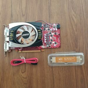 Video Graphic Card ATI Radeon HD 4770 512 MB GDDR5 PCI-e DVI