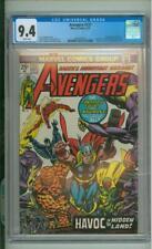 Avengers #127 CGC 9.4 1st App Of Ultron-7 1974