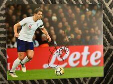 England James Tarkowski Autographed Signed 11x14 Photo Coa #2
