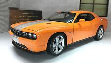 Dodge Challenger 2013 SRT Coupe 1:24 Scale Diecast Model Car 24049 Orange