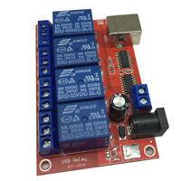 5V 4 Channel Relay Module Programmable Computer Control USB Control Driver