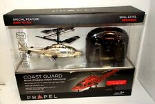 Propel Micro Wireless Indoor Coast Guard Helicopter , New in Box