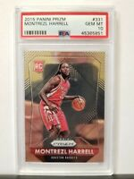 2015-16 Panini Prizm Montrezl Harrell RC #331 PSA 10 GEM MINT LOW POP LAKERS