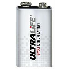 3x Ultralife 9V E-Block Lithium-Batterien U9VL-J-P 1200mAh für Rauchmelder