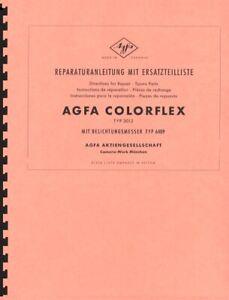 Agfa Colorflex TYP 3012 Service & Repair Manual Reprint (multi-language)