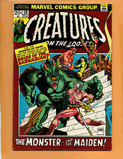 Creatures on the Loose #20 Nov 1972 VF+