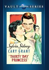 Thirty Day Princess DVD (1934) - Cary Grant, Sylvia Sidney, Edward Arnold