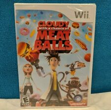Cloudy With a Chance of Meatballs (Nintendo Wii, 2009) Factory Sealed