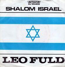 7inch LEO FULDshalom IsraelHOLLAND EX- 1967 (S0243)