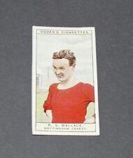 CIGARETTES CARD OGDEN'S 1926 FOOTBALL CAPTAINS 28 WALLACE NOTTINGHAM FOREST