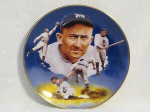 """Hackett American Collector Plate """"Ty Cobb Edition"""" 1986"""
