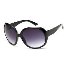 LE Retro Women Black Eyewear Oversized Sunglasses