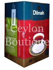 Dilmah Ceylon English Breakfast Tea - 50 Tea Bagged