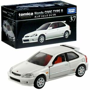 Takara Tomy Tomica Premium No. 37 Honda Civic Type R 1/62 Mini Diecast Toy Car