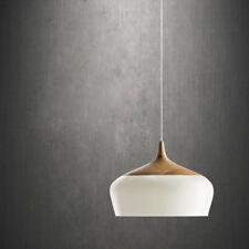 Pendant Light Wood Lamp Shade Lighting Ceiling Fixture Modern Hanging Modern