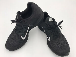 Nike Zoom Winflo 5 AA7414-001 Running Shoes Women's Size 7.5 Black EUC Athletic