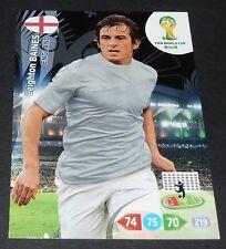 BAINES ENGLAND ANGLETERRE FOOTBALL CARD PANINI FIFA WORLD CUP BRASIL 2014