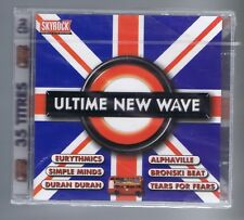 ULTIME NEW WAVE 2 CDs (NEW) EURYTHMICS SIMPLE MINDS DURAN DURAN TEARS FOR FEARS