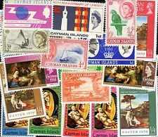 Iles Caimanes - Cayman Islands 200 timbres différents