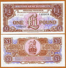 Great Britain, 1 pound, Armed Forces, ND (1956), M29, UNC