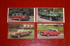 ★★4-1965-66 MUSTANG CONVERTIBLE PHOTO MAGNETS- 65 66 FORD MAGNET★★