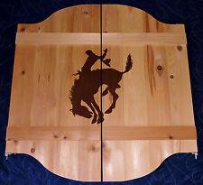 "53""- 64""  Wild West Bronc Rider Saloon Cafe Swinging Doors w/ Your Name/ Logo"