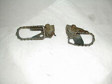 2002 YAMAHA TTR125L TTR 125 L FOOTPEGS WITH PINS AND SPRINGS