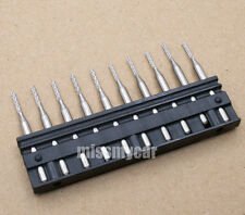 """60 PCB end mill engraving cnc router tool bits 1/8"""" (3.175mm) L:38mm"""