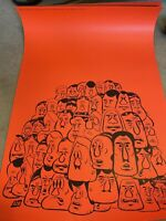 "Barry Mcgee Twist exhibition poster 24""x36"" art obey banksy graffiti Kaws Revok"