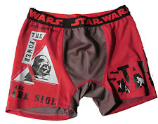 STAR WARS THE POWER OF DARK RED BOXER BRIEFS SMALL