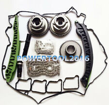 Timing Chain Kit Camshaft Adjuster Gears for Mercedes M271 W203 W204 E250 C250