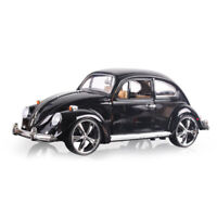 1:18 Classic VW Beetle Superior 1967 Model Car Diecast Collectable Vehicle Black
