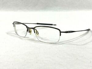 Oakley Jackknife 4.0 Pewter Rectangular Rx Eyeglass Frames 51▯19-138