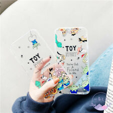 For iPhone 11 Pro Max XS XR 6S 7 8Plus Toy Story Woody Friend Soft Phone Case