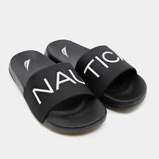 Nautica Lifeboat Logo Slide Sandals