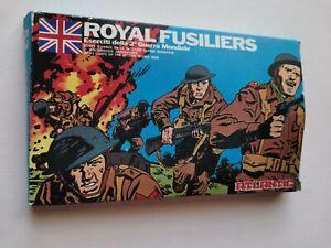 Boîte neuve soldats anciens atlantic royal fusiliers réf 53 ww2 figurines 1/72