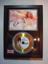 RIHANNA   SIGNED  GOLD CD  DISC 6