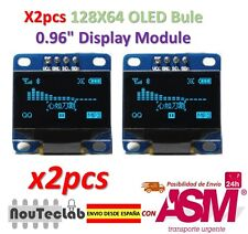 2pcs OLED Display 128X64 OLED LCD LED Display Module I2C IIC SPI Serial