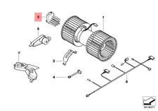 Genuine BMW E39 E46 E53 E83 E83N Heater Fan Blower Resistor OEM 64116923204