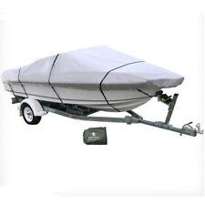 12-14 ft Trailerable Marine Boat Cover 3.6-4.2M Rain Sun UV Half Cabin 20008005