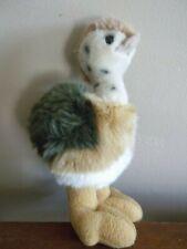 "8"" Baby Ostrich cuddly Plush German stuffed Toy bird"