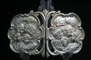 Antique 1899 Solid Silver Nurses' Buckle Fully Hallmarked