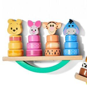 Winnie The Pooh: Wooden Balance Blocks | Disney Pixar Childrens Toys | Brand New