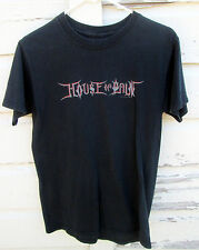 Authentic House Of Pain Mens Black Short Sleeve Black T Shirt Size S Small