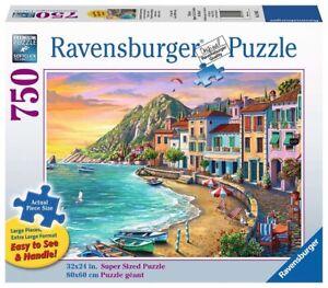 Ravensburger - Romantic Sunset Jigsaw Puzzle 750pc Large Format
