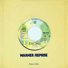 """7"""" ALICE COOPER You And Me / It's Hot Tonight WARNER 45rpm US-Press orig. 1977"""