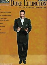 NEW Duke Ellington Men's Ed Vol 24 Songbook & Sound-Alike CD 8 Timeless Songs