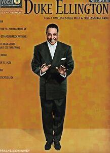 NEW Duke Ellington Men's Ed Vol 24 Songbook & Sound-Alike CD 8 Timeless Songs